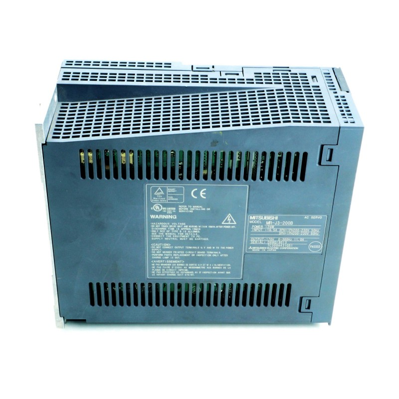 Mitsubishi MR-J3-200B servo amplifier