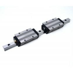 THK SHS15 Linear Actuator + 2 Carts 280L
