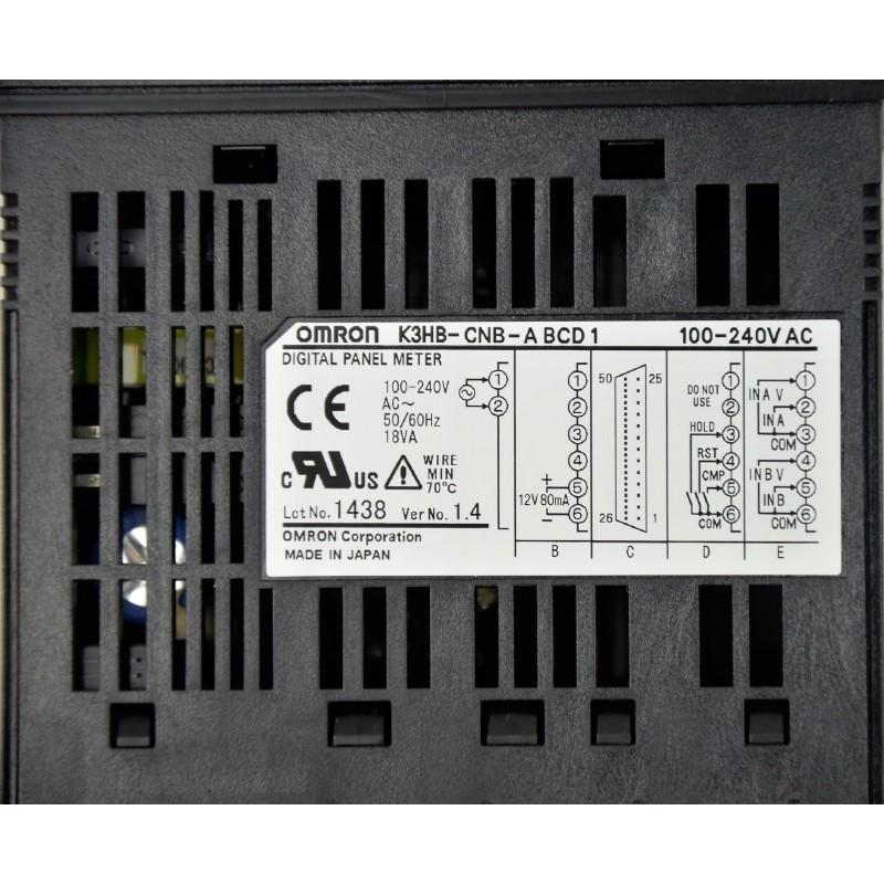 Digital Panel Omron K3HB-CNB 100-240V - 4
