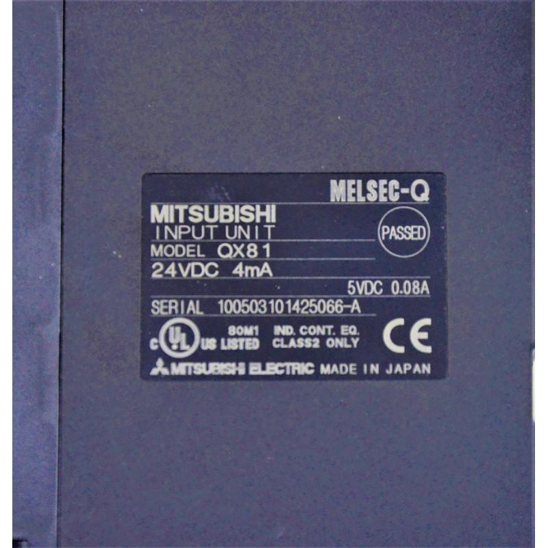 Sterownik Mitsubishi Melsec-Q QX81