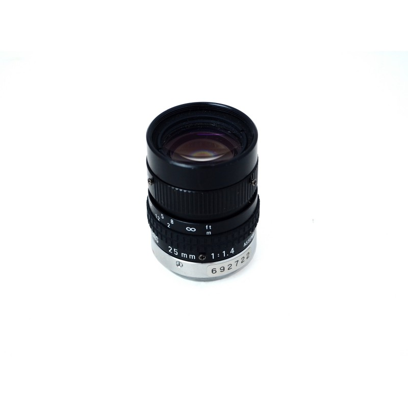 Pentax 25mm 1:1.4 TV Lens