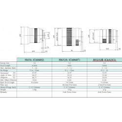 Obiektyw Pentax TV 12mm H1212B (C61215) 1:1.2