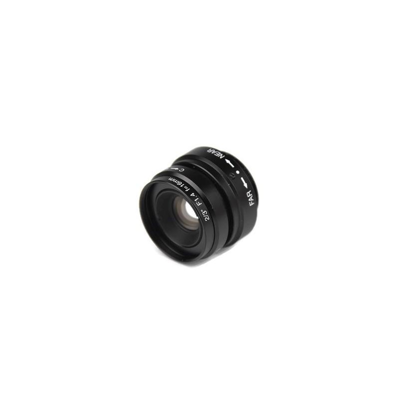 """Obiektyw Fuzhou FEIHUA 16mm 2/3"""" 1.4"""