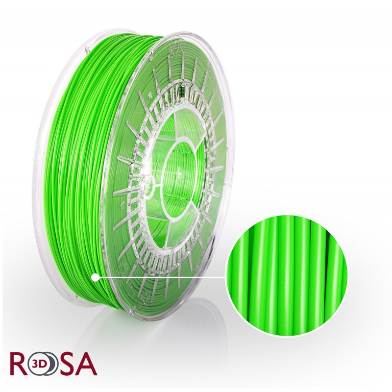 Filament Rosa PLA Premium 1,75mm Zielony 0,9kg - 1