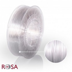Filament Rosa PET-G Premium 1,75 mm Transparent 0,9kg - 1