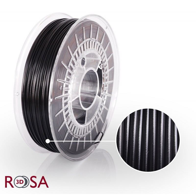Filament Rosa PET-G Standard 1,75 mm Czarny 0,9kg - 1
