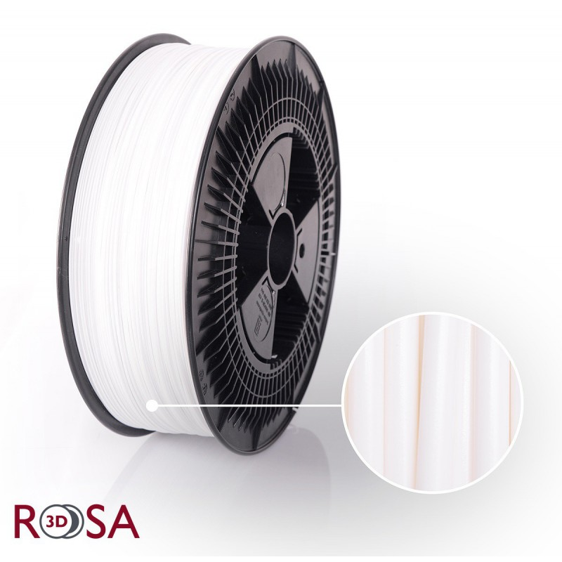 Filament Rosa PET-G Standard 1,75 mm Biały 3kg - 1