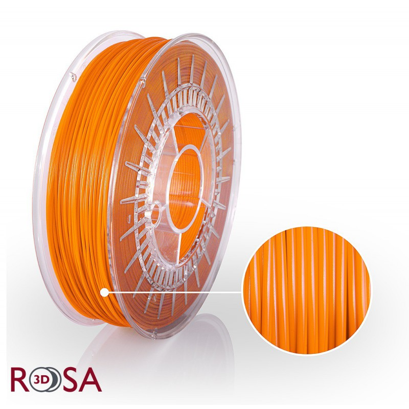 Filament Rosa PLA Starter 1,75mm Orange 0,8kg - 1