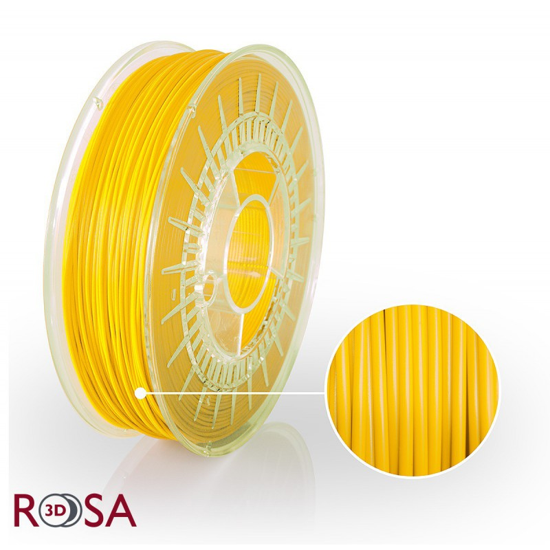 Filament Rosa PLA Starter 1,75mm Yellow 0,8kg - 1