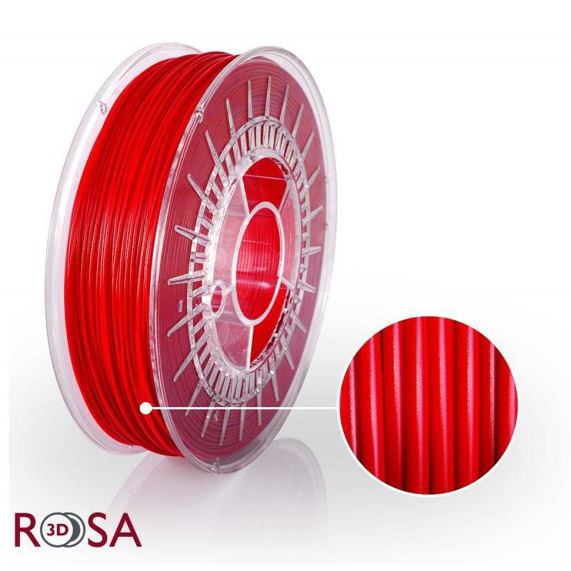 Filament Rosa PLA Starter 1,75mm Red 0,8kg - 1