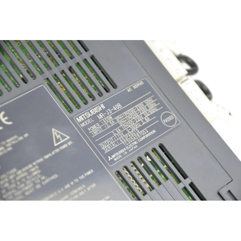 Mitsubishi MR-J3-40B Melservo Servo Amplifier