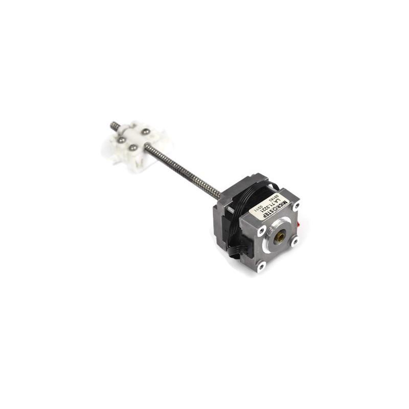 Silnik krokowy bipolarny Microstep + śruba 130mm