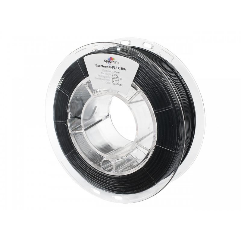 Filament Spectrum S-Flex 90A 1.75 mm DEEP BLACK