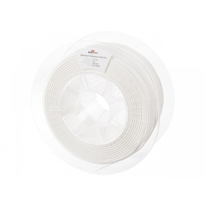 Filament Spectrum PLA Pro POLAR WHITE 1 kg