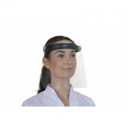 Przyłbica MyProtect 2-MP2 chroniąca całą twarz.