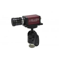 AVT Marlin F131B camera + Pentax 16mm C1614-M Lens+ Manfrotto 484 ball head