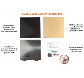 """Wham Bam Flexible Build System Pre-Installed 235 mm x 235 mm / 9.25"""" x 9.25"""""""