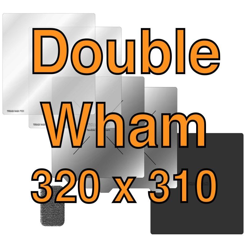 "Double Wham Kit 320 mm x 310 mm / 12.6"" x 12.2"""