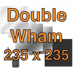 """Double Wham Kit podkładka adhezyjna 235 mm x 235 mm / 9.25"""" x 9.25"""""""