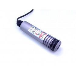 Laser Liniowy LINELASER zielony 50mW 12/24V DC - 3 m kabla zasilającego