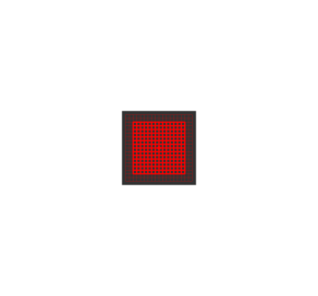Laser kwadrat- siatka 5mW Laserglow Brightline Premium - Czerwony