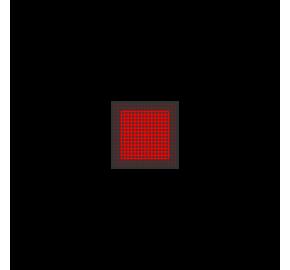 Laser kwadrat - siatka 5mW Laserglow Brightline Premium - Czerwony