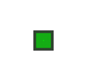 Grid of Squares Laser Brightline Premium LASERGLOW 5mW- green