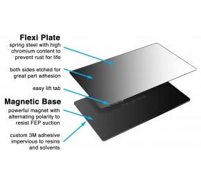 Wham Bam 124 x 70 mm Flexible Build System for Resin podkładka adhezyjna do drukarek żywicznych
