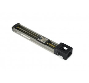 THK KR20A 200mm linear actuator with metal cage