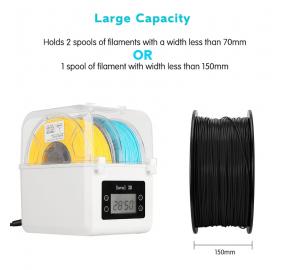 Sovol 3D Filament Dryer Box for 2 spools of filament