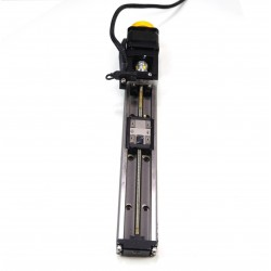 THK KR20 200mm linear actuator module with motor