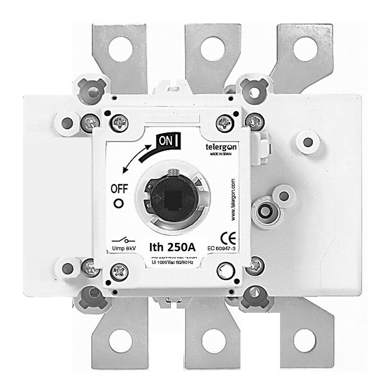 Switch-disconnector 250A, 3-poles, TELERGON - 4