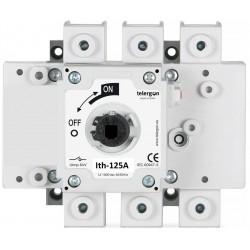 Rozłącznik izolacyjny 3-bieg.  125A /400V /  AC23A