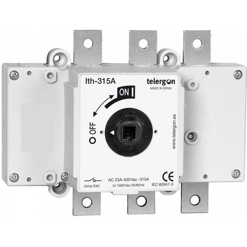 Rozłącznik izolacyjny 3-bieg.  315A /400V /  AC23A