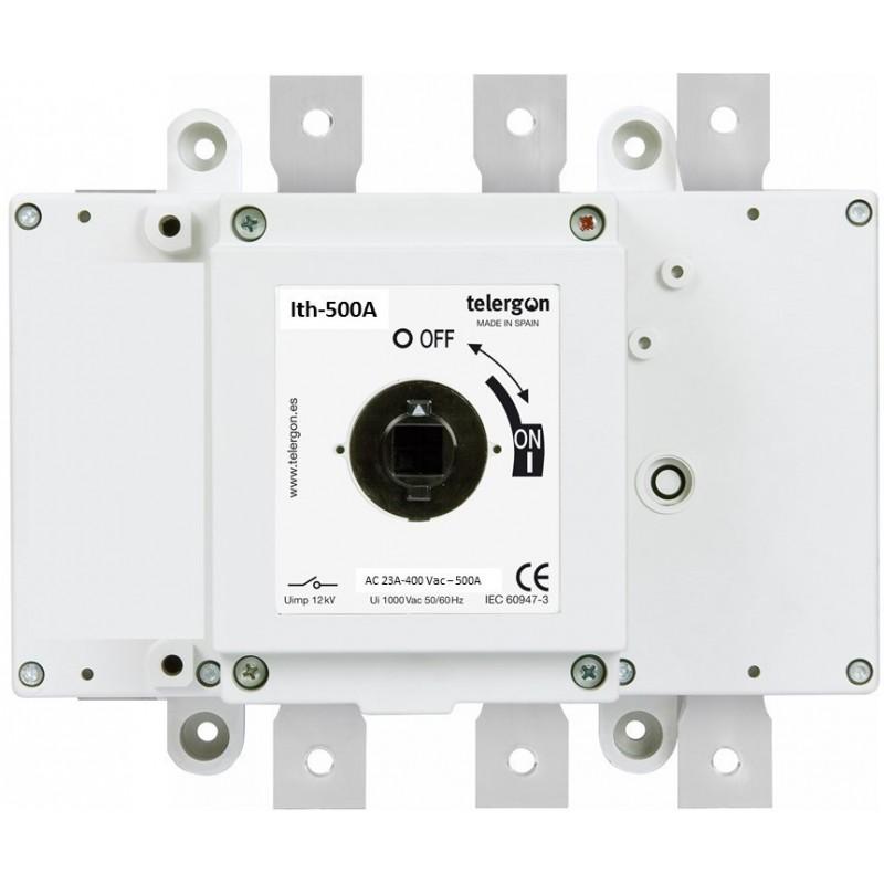 Rozłącznik izolacyjny 3-bieg. 500A /400V / AC23A