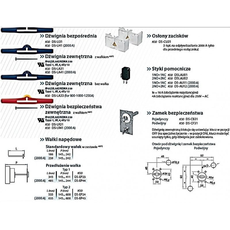 Switch-disconnector 1250A, 3-poles
