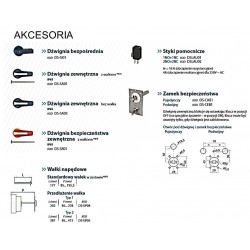 Rozłącznik izolacyjny 3-bieg.  40A / 500V /  AC23A