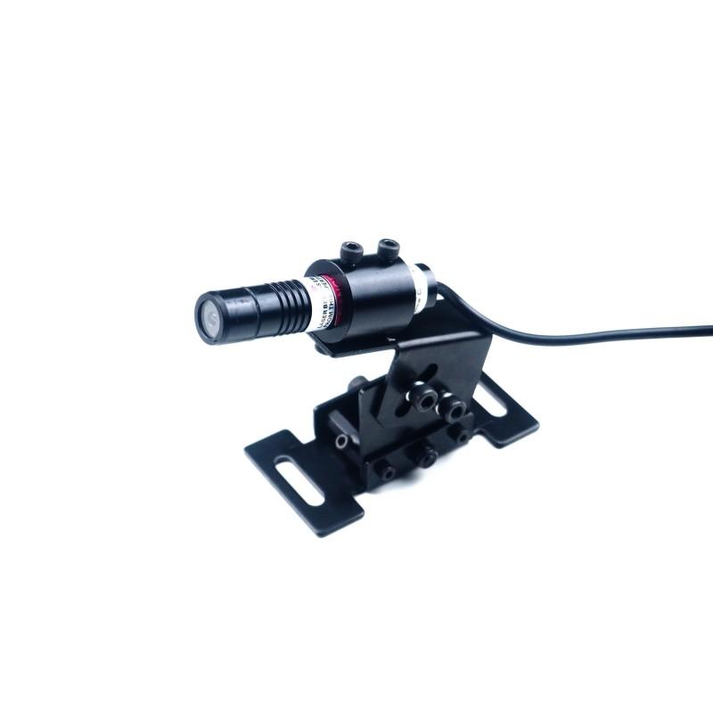 Laser liniowy 20mW - czerwony